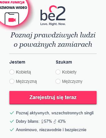 Rejestracja w be2 - krok pierwszy